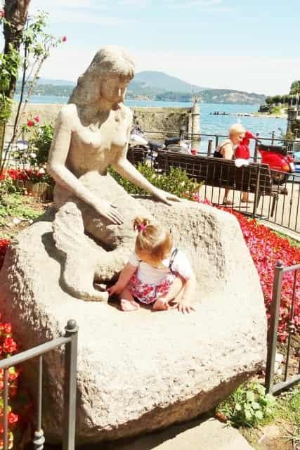 Stresa, Lago Maggiore, Italië - mamaliefde