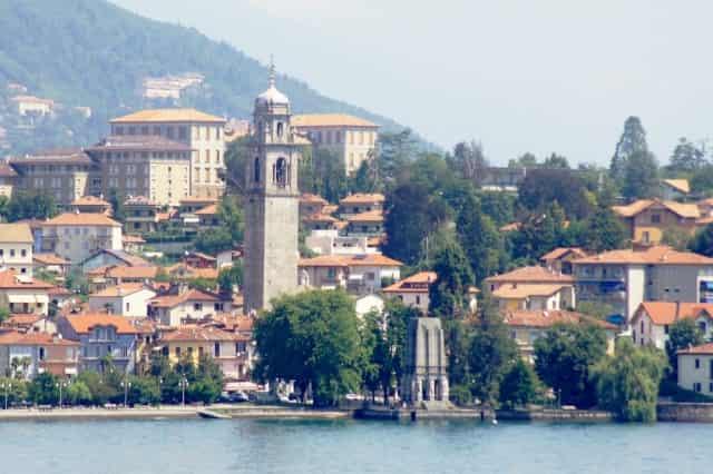 Verbania, Lago Maggiore, Italië - mamaliefde