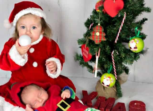Fotografie mamaliefde - Baby boy versiering van de zaal ...