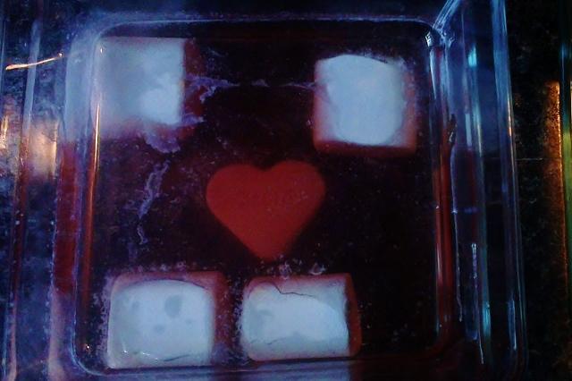 Sensopatisch spel Valentijn gelatine - mamaliefde