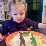Sensopatisch spelen met sneeuw en ijs - Mamaliefde