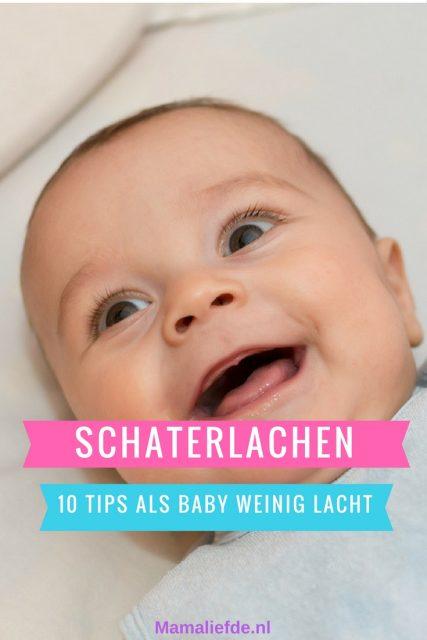 Schaterlachen; 10 tips wanneer je baby weinig / niet lacht - Mamaliefde.nl