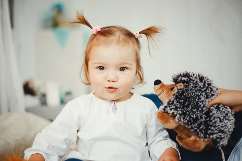 Voorbeelden staartje maken bij Baby en Dreumes (met dun haar) - Mamaliefde.nl