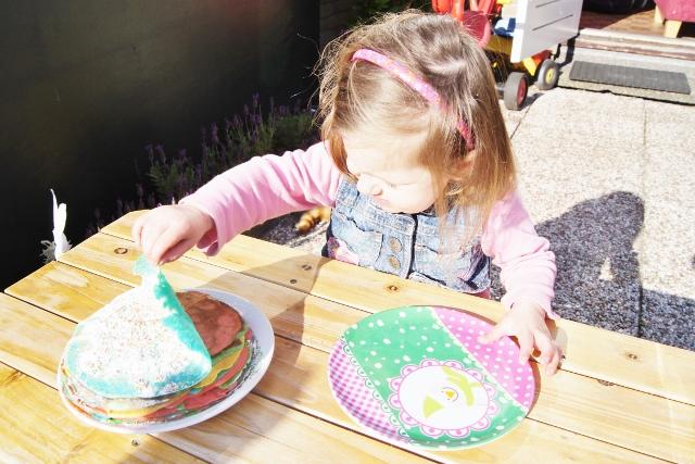 Fun food: pannenkoekentaart - mamaliefde
