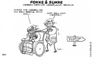 Fokke & Sukke: Bevrijdingsdag - mamaliefde
