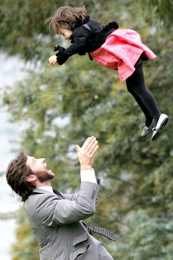 awesome celebrity dad's with their kids - mamaliefde