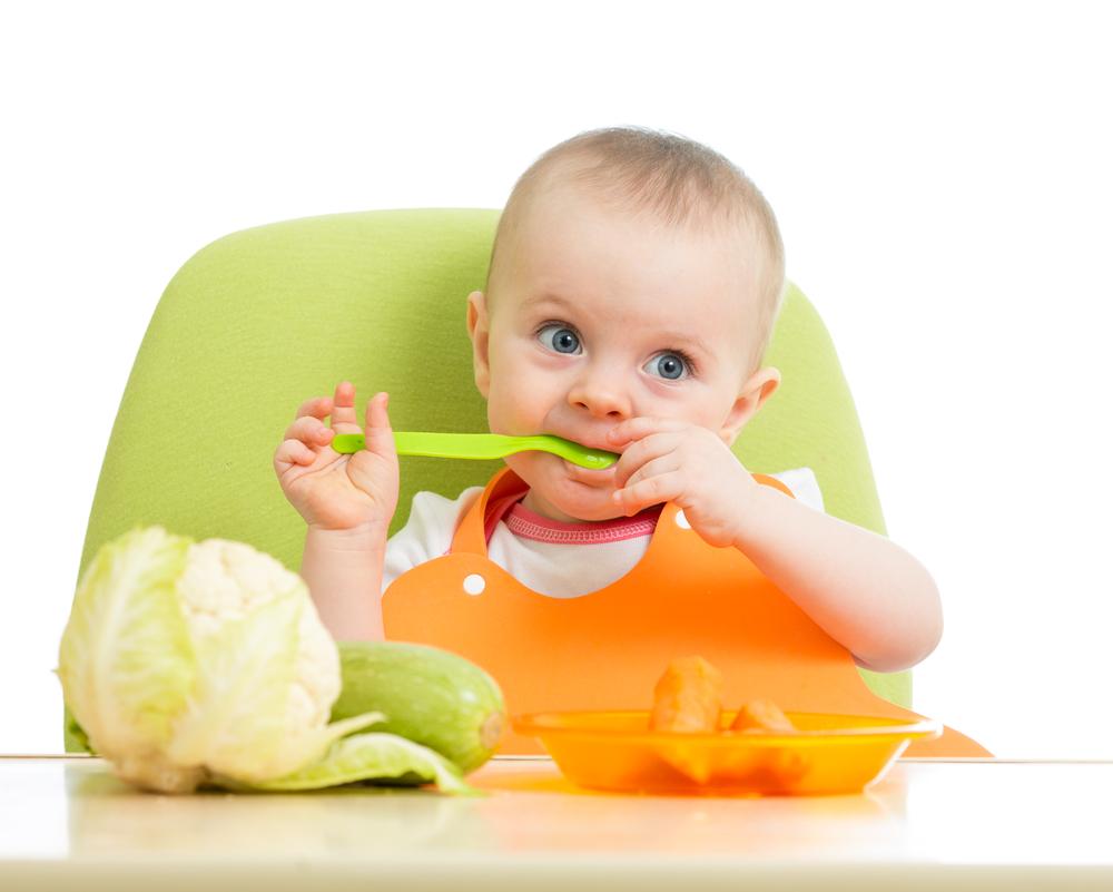 vaste voeding baby schema
