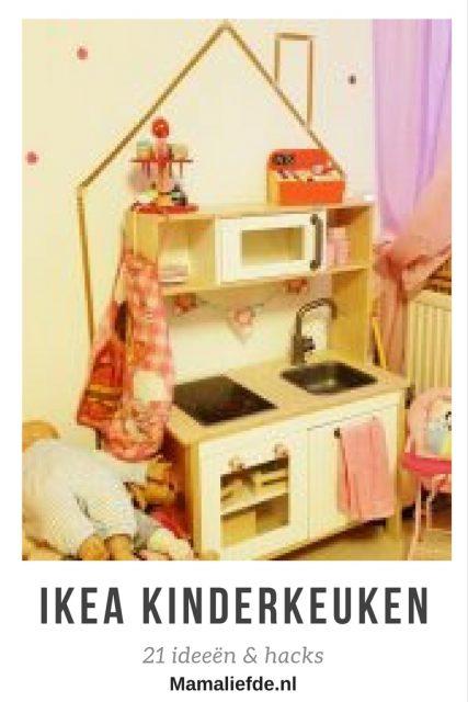 Op zoek naar een fijne kinderkeuken? De Duktig ikea keuken is vrij standaard, maar kan je heel eenvoudig zelf pimpen. Handige voorbeelden en hacks hoe je dat doet - Mamaliefde.nl