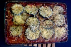 Verstopte groenten: aubergine lasagne - Mamaliefde