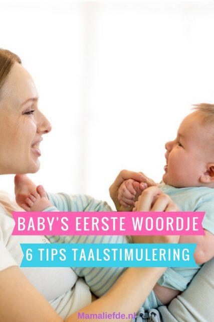 Na je baby's eerste woordje kan het heel snel gaan met de ontwikkeling van de woordenschat. 6 Tips voor taalstimulering op een speelse manier. - Mamaliefde.nl