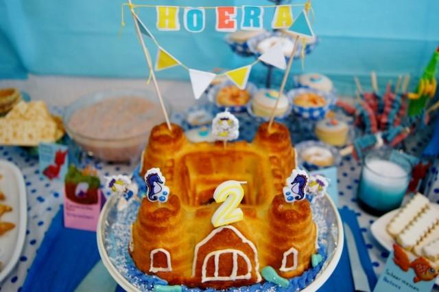 Underwater dessert buffet - mamaliefde