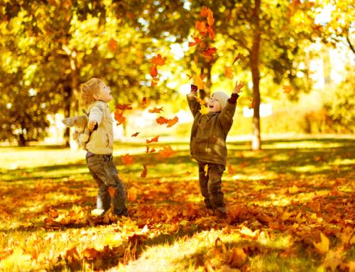 Herfst spelletjes en activiteiten voor buiten spelen