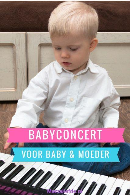 Muziek is goed voor de ontwikkeling van kinderen. D.m.v. een speciaal babyconcert kunnen jonge kinderen op een vrije manier kennis maken - Mamaliefde.nl