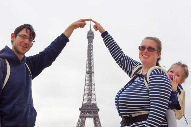 Fotoverslag dagje Parijs eifeltoren met een peuter - Mamaliefde