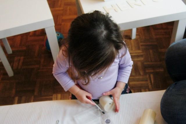 DIY; Sensopatische herfst tafel - Mamaliefde
