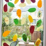 DIY; Herfst raamdecoratie - Mamaliefde