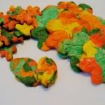 Recept voor kleurrijke speltkoekjes in de herfst - Mamaliefde