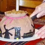 Sinterklaas pakjesavond; taart - Mamaliefde