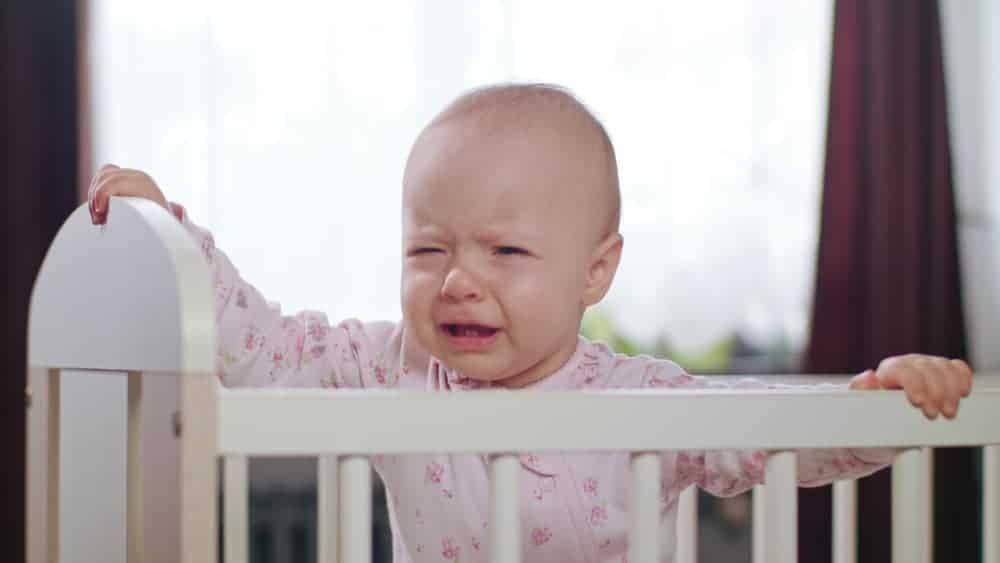 hoe lang baby laten huilen