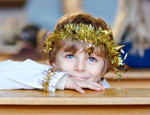 Kerstavond met kinderen in de kerk