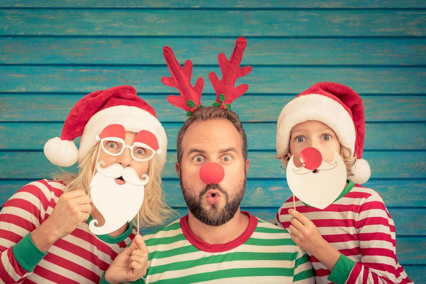 Kerstkaarten maken; voorbeelden en ideeën om te knutselen of met foto - mamaliefde.nl