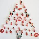 Kerstmis: DIY kerstboom op canvas met hout - Mamaliefde