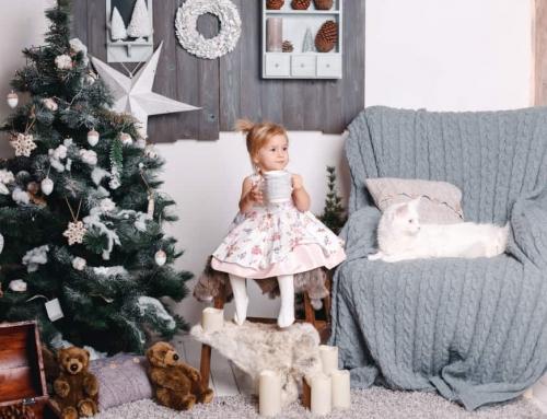 Kinderen, katten en kerstbomen