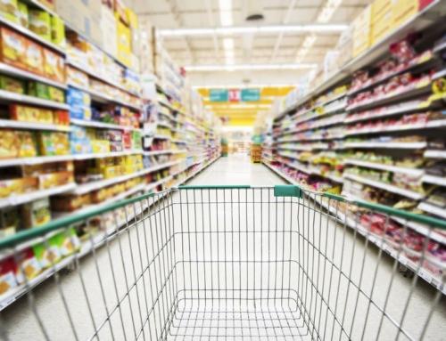 Boodschappenlijst maandelijkse grote boodschappen met houdbare producten en alternatieven