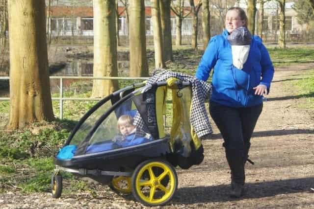 Review draagjas draagwandeling boswandeling in de lente - Mamaliefde