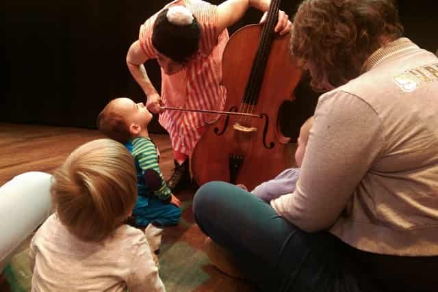 Babyconcert kindermuziekweek de Doelen Rotterdam - Mamaliefde