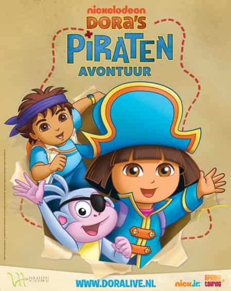 Dora's piraten avontuur - Mamaliefde