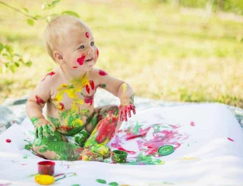 Knutselen met baby's, dreumes, peuter en kleuter