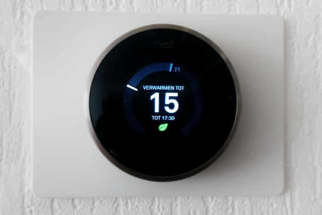 Review: Nest learning thermostaat - Mamaliefde