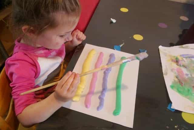 DIY Puffy Paint - Mamaliefde