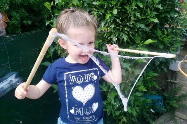 DIY: XL bellenblaas - Mamaliefde