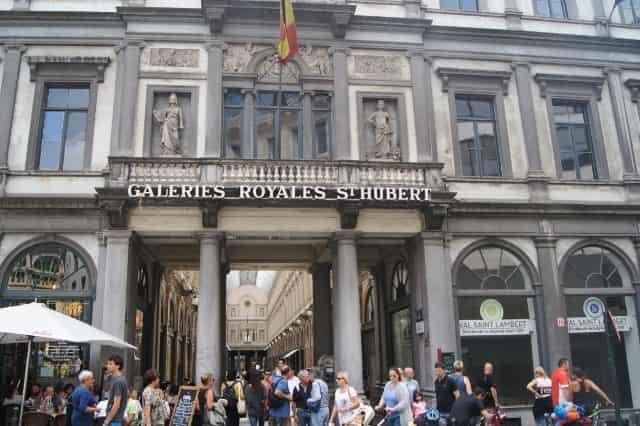 Stedentrip Brussel - Koninklijke Sint Hubertus galerijen - Mamaliefde