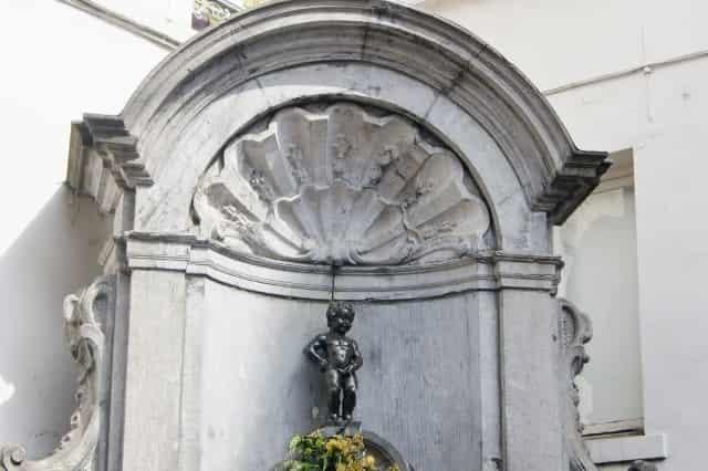Stedentrip Brussel - Manneke Pis- Mamaliefde
