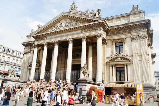 Stedentrip Brussel - Anspachlaan Voetganger is Koning - Beurs- Mamaliefde