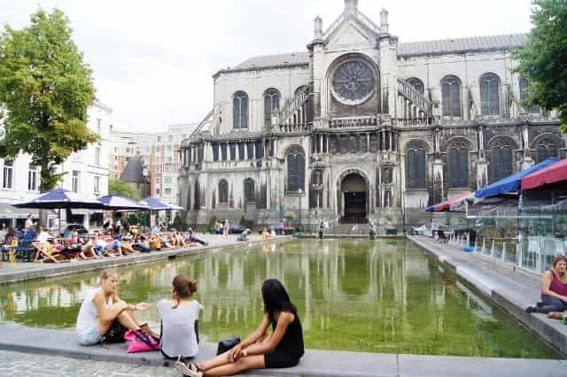 Stedentrip Brussel -Kathelijneplein - Mamaliefde