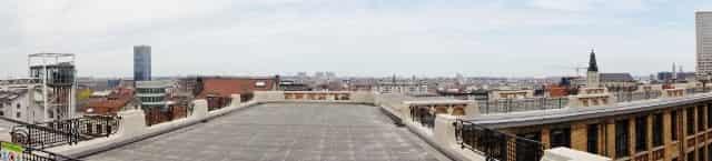 Stedentrip Brussel- Sint Jacob op deantiekmarkt - panorama - Mamaliefde