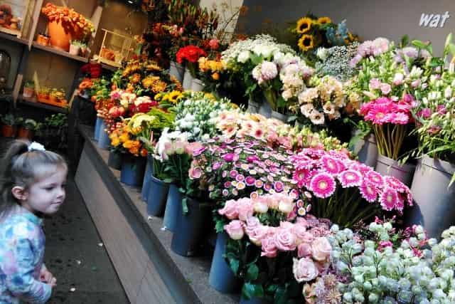 Bloemen en kinderen - Mamaliefde