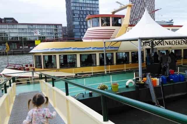 Pannenkoekenboot Rotterdam met kinderen - Mamaliefde.nl