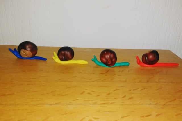 Iets Nieuws Herfst: knutselen met kastanjes voor peuters en kleuters en #XA86