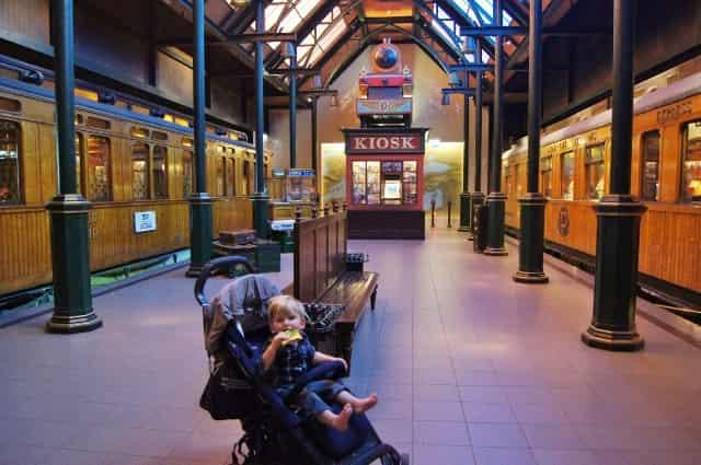 Spoorwegmuseum Utrecht - Nederland - Mamaliefde