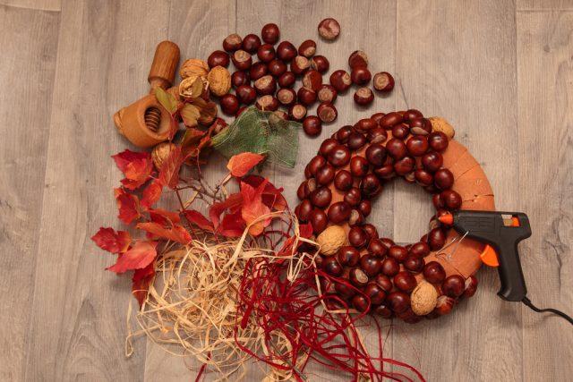 Populair Herfst: knutselen met kastanjes voor peuters en kleuters en &ZW29
