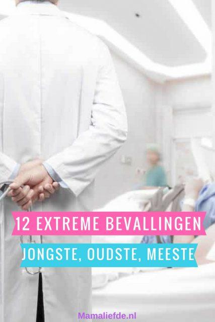 Top 12 Meest extreme bevallingen; met onder andere de jongste en oudste moeder en vader ooit zwanger. Bevalling met meerling met meeste kinderen en langst durende bevalling - Mamaliefde.nl