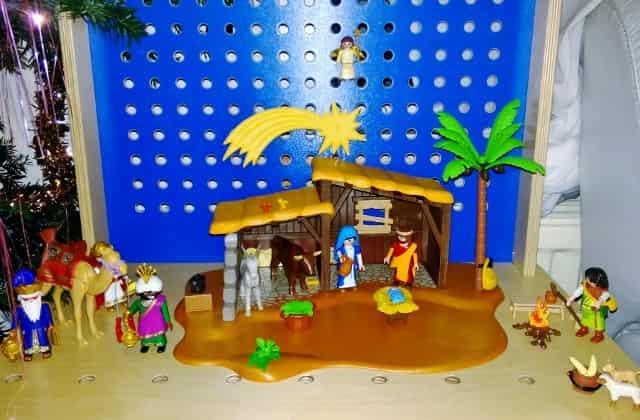 Winactie Playmobil grote kerststal - Mamaliefde