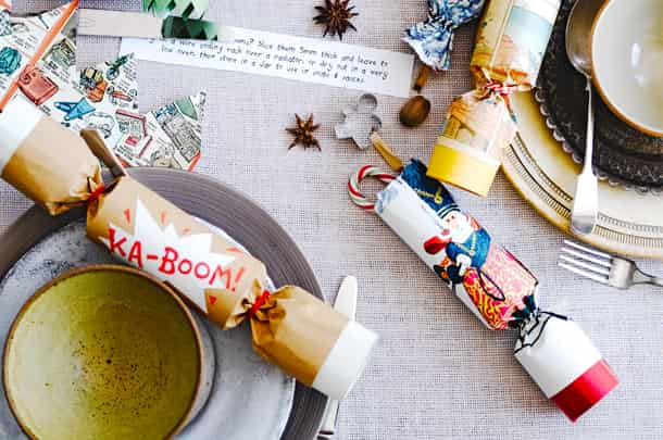 DIY Christmas Crackers - Mamaliefde