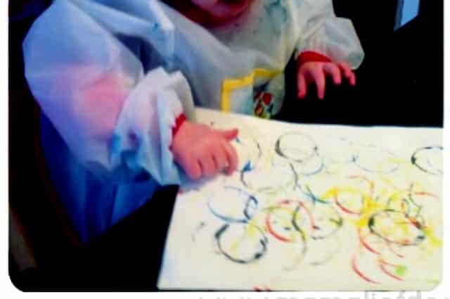 Vaak Verven met baby's, peuters en kleuters; 15 verschillende @IA28