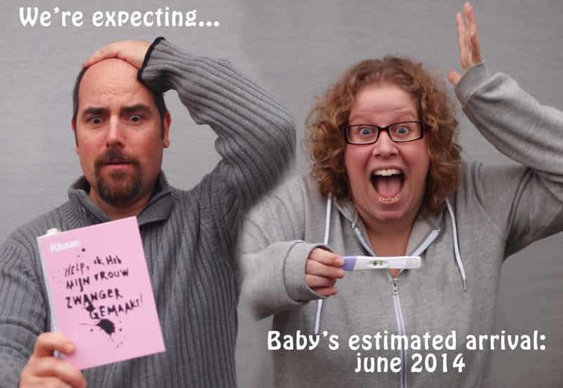Een originele zwangerschapsaankondiging met t shirts ⋆ mamaliefde
